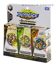 Takara Tomy Beyblade BURST B-90 3 on 3 Battle Booster Set