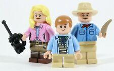 NEW LEGO JURASSIC PARK 75932 MINIFIGURES - ALAN GRANT ELLIE SATTLER TIM MURPHY