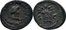 Quadrans 85 RÖMISCHE KAISERZEIT Domitian, 81-96 #Z549