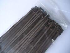 BeBo Kabelbinder farbig in Industriequalität 4,8x300mm in BRAUN 100 Stück