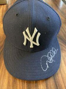 Derek Jeter Autographed New York Yankees Authentic 59/50 hat JSA full letter