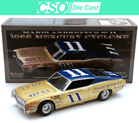 Mario Andretti 1968 Mercury Cyclone University of Racing 1/24 Die Cast IN STOCK