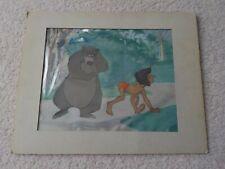 Original Walt Disney Jungle Book Cartoon Production Cel Cell Scarce & RARE !!!