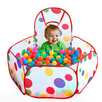 Children Ocean Ball Pit Pool Game Kids In/Outdoor Folding Play Tent house w/Ball