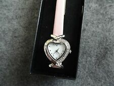 New Ladies Avon Classic Heart Watch with a Pink Band
