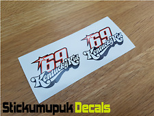 2 x Nicky Hayden Stickers Kentucky Kid MotoGP Moto GP 69 Helmet Small 60mm