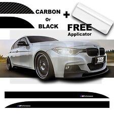 BMW 3 Series M PERFORMANCE Side Skirt Car Vinyl Sticker F10 F30 F31 F32 F33 F35