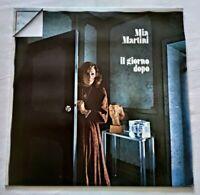 MIA MARTINI LP IL GIORNO DOPO 33 GIRI VINYL 1973 ITALY RICORDI SMRL 6114 NM/NM