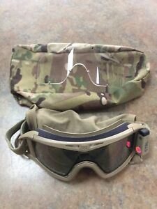 CTRL MG09-Tan E-Tint Goggles With Clear Lens & Pouch