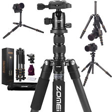 Pro Carbon Fiber Camera Tripod lightweight Monopod Ball Head for DSLR Camera