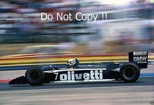 Riccardo Patrese Brabham BT55 French Grand Prix 1986 Photograph