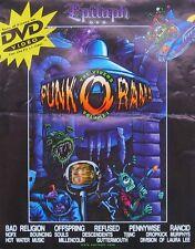 PUNK O RAMA POSTER, DVD PROMO (H10)