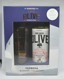 Korres Pure Greek Olive Oil Verbena Eau De Cologne 100 ml + Verbena Showergel