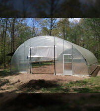 30 x 32 ft - 3ft Sidewall Super Duty Greenhouse - Cold Frame - High Tunnel - Kit