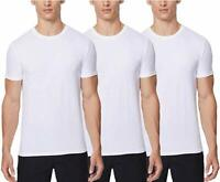 32 Degrees Cool 2 or 3 Pack Undershirt Essential Fit Air Mesh Black or White