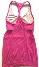 LULULEMON PRACTICE FREELY TANK TOP size 2 Paris Pink Run  Gym Yoga Spin Mesh