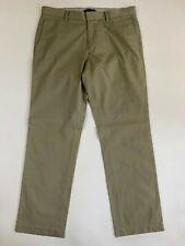 Men's Banana Republic Emerson Chino Khaki Beige Pants Size 34 x 32
