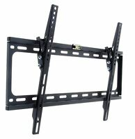 SLIM FLAT LCD LED TV WALL MOUNT BRACKET TILT 40 42 43 46 47 48 50 55 60 65 70
