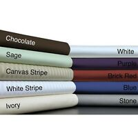 Supreme 1000tc Egyptian Cotton 1 PC Valance Multi Colors Select AU Size