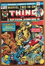 Marvel Two-In-One #4 (1974) Marvel VF/NM Thing Captain America