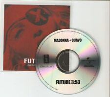 "MADONNA FT QUAVO ""FUTURE"" NEW 1TRACK  CD PROMO"