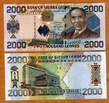 Sierra Leone, 2000 (2,000) Leones, 2006, P-26 (26c), UNC, Large Size Issue