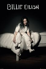 Billie Eilish Bed Indie Music Picture Maxi Poster Print 61x91.5cm | 24x36 inches