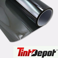 "Premium Non-Reflective Auto Tint Film Black 35% 2 ply Window 20"" x 100ft"