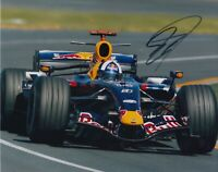 David Coulthard Hand Signed 10x8 Photo - Formula 1 Autograph F1 Red Bull 5.