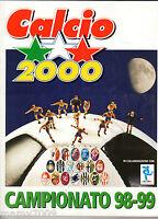 ALBUM FIGURINE CALCIO2000=CAMPIONATO 98-99 =COMPLETO