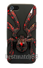 for iPhone 5 5s spider 3D case cover skin hard soft hybrid +//