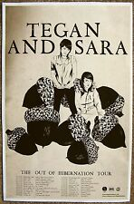 TEGAN AND SARA 2008 Tour POSTER Out Of Hibernation Gig Concert