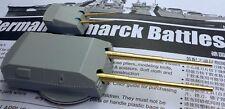 Superset of Gun Barrels Trumpeter Bismarck 1/200th