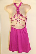 NWT BECCA Bikini Swimwear Cover up dress Sz S Pads open back RAS