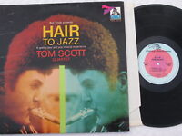 TOM SCOTT QUARTET~HAIR TO JAZZ~FLYING DUTCHMAN FDS-106 Stereo, Gatefold (NM)