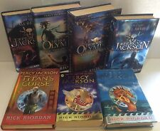 7 Percy Jackson Rick Riordan (Lightening Monsters Titan Olympian Labyrinth Hero)
