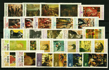 BULGARIA Art PAINTINGS - lot of 6 complete sets (28 stamps) MNH