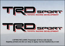 Toyota TRD Sport decal sticker 4X4 Sport Off road Tundra AWD 2WD