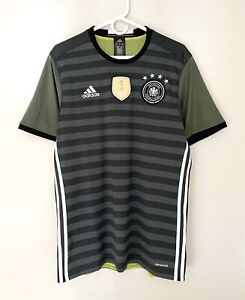 Adidas Germany Striped Training World Cup Jersey Shirt 2014 Large Excellent Cond