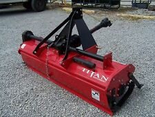 New Titan Implement Geardrive  5 FT Roto Tiller, WE SHIP CHEAP.  Email for quote