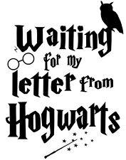 Custom Vinyl Car Decal Wizard In Training Sticker Harry Potter Wand Hogwarts