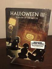 Halloween III 3 Season Of The Witch Steelbook (Blu-ray, Limited Edition) SEALED!