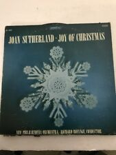 JOAN SUTHERLAND  JOY OF CHRISTMAS Records Ships N 24hrs
