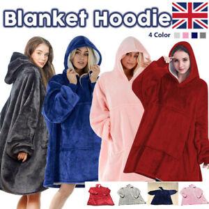 Hoodie Blanket Oversized Big Hooded Ultra Plush Sherpa Giant Sweatshirt Blanket