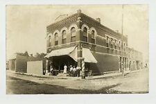 Calmar Iowa Rp 1909 Bar Saloon P. Meyers Place nr Decorah Cresco Ft. Atkinson