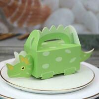 Dinosaur Party Favor Boxes Candy Sweet Treat Bags Baby Birthday Shower Y8T9
