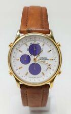 Orologio Citizen 6850-G81121 K chrono alarm anni 90 chrono watch clock vintage