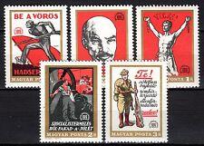 Hungary - 1969 50 years republic - Mi. 2486-90 MNH