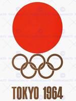 SPORT ADVERT EXHIBITION EVENT 1964 TOKYO OLYMPIC GAMES JAPAN ART PRINT CC1858