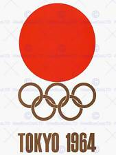 SPORT ADVERT EXHIBITION EVENT 1964 TOKYO OLYMPIC GAMES JAPAN ART PRINT CC1858